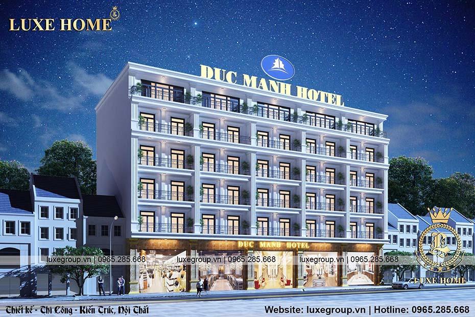 thiết kế khách sạn kiến trúc hài hòa ks 61158