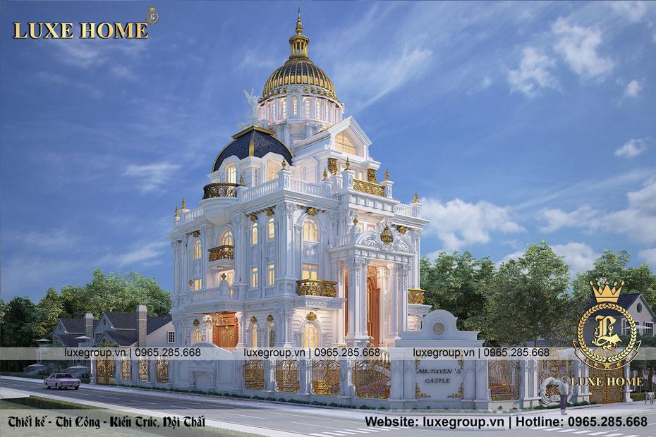 tòa lâu đài pháp ld 4128