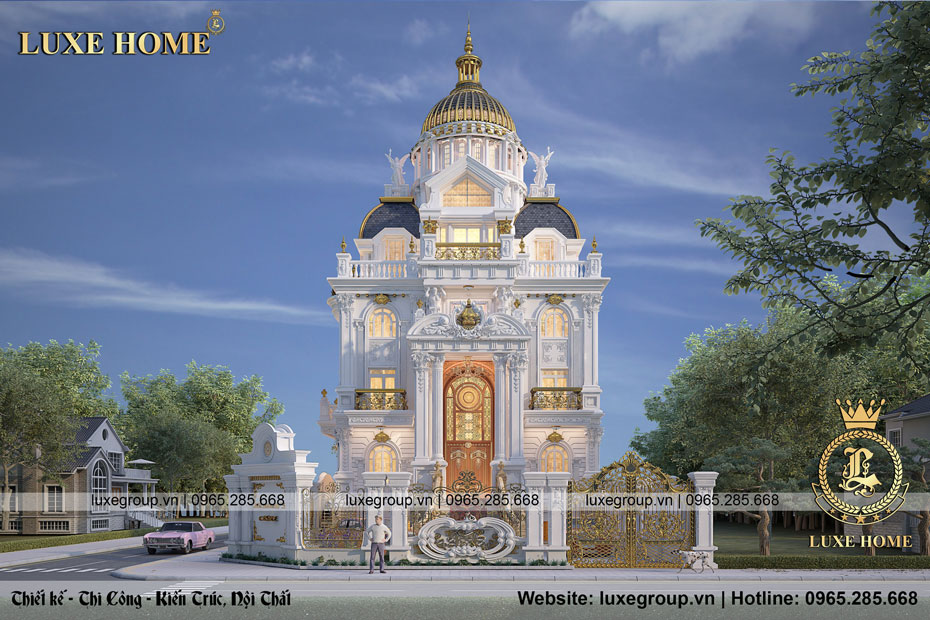 lâu đài cổ điển ld 4128