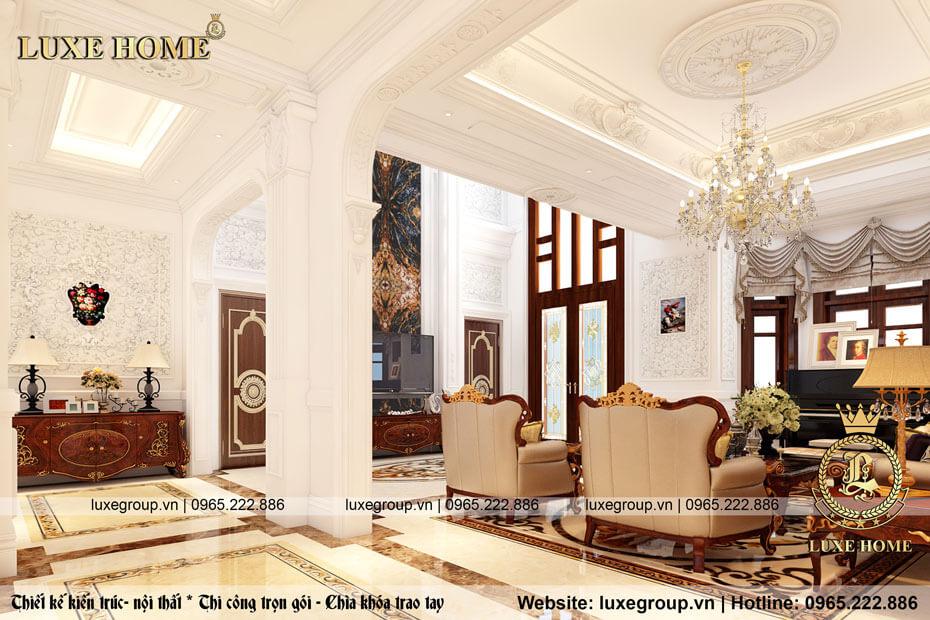 thiết kế nội thất phòng khách 03