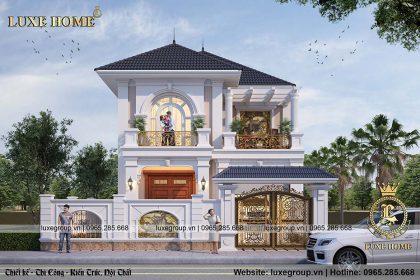 Biệt thự 2 tầng mái thái, nhà Anh Khang Thanh Hóa BT – 2216