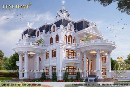thiết kế lâu đài 3 tầng ld 3201