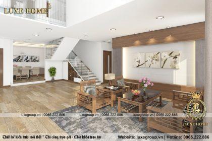 Thiết kế nội thất phong cách hiện đại – NT 0112