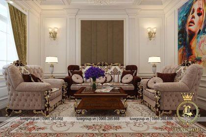 Phong cách nội thất tân cổ điển sang trọng và đẳng cấp – NT 0156
