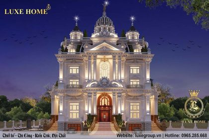 Mẫu lâu đài cổ điển 5 tầng phong cách pháp, đẳng cấp – LD 5113