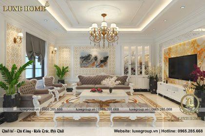 Mẫu thiết kế nội thất tân cổ điển sang trọng ở Quảng Nam – NT 0155