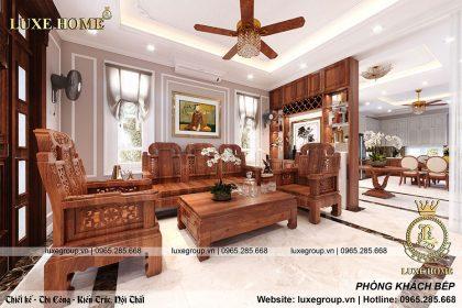 Thiết kế nội thất tân cổ điển nhà Anh Khang Thanh Hóa – NT 2216
