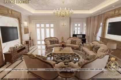 không gian nội thất lâu đài đẳng cấp ld 3134 03