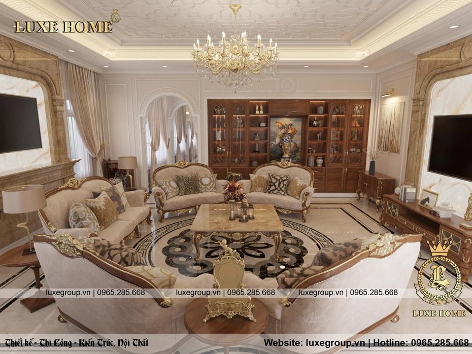 không gian nội thất lâu đài đẳng cấp ld 3134 04
