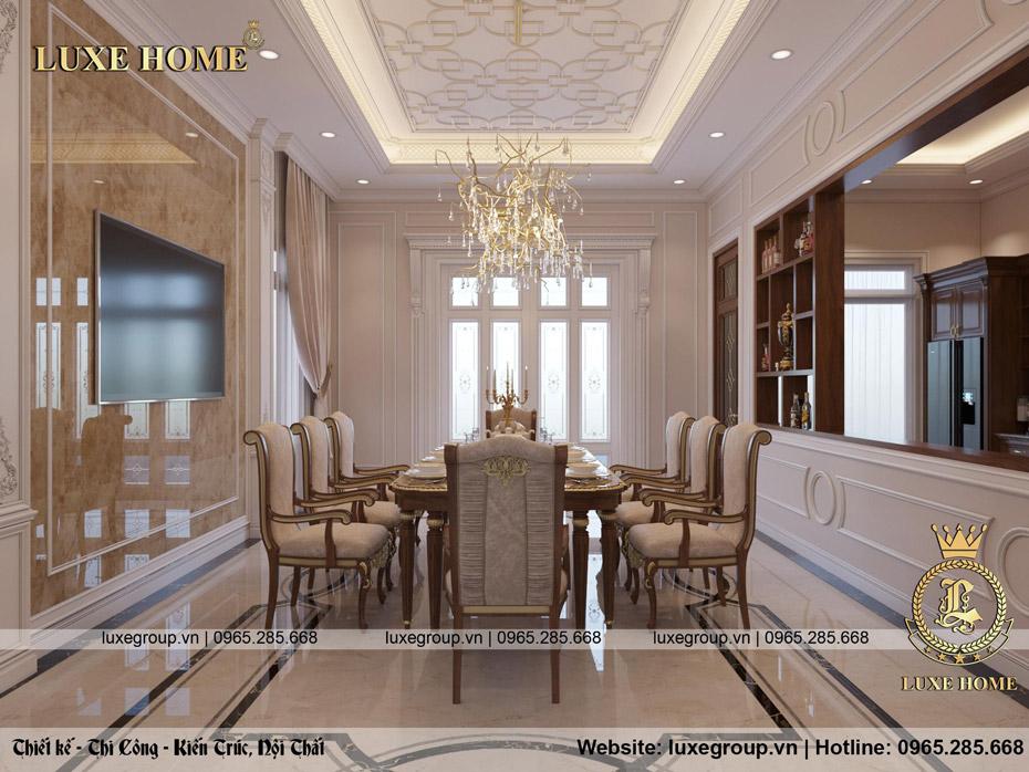 không gian nội thất lâu đài đẳng cấp ld 3134 05