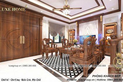 Sang trọng thiết kế nội thất hiện đại nhà anh Lượng – NT 3202