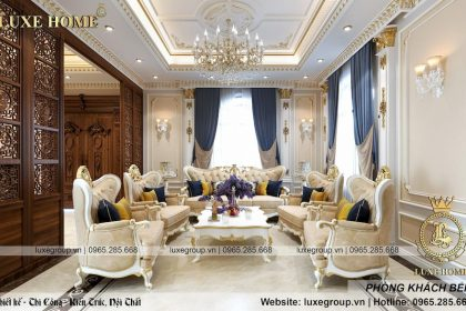 Thiết kế nội thất tân cổ điển gia đình Anh Thông – NT 1121