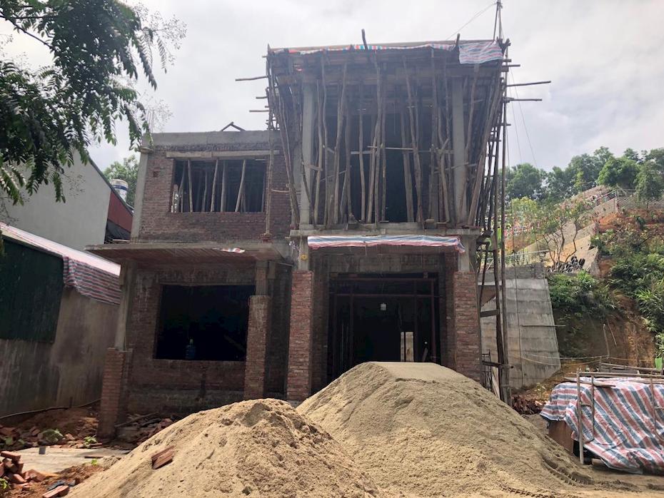 Thi công biệt thự 2 tầng tân cổ điển tại Thanh Hóa – TC 2183