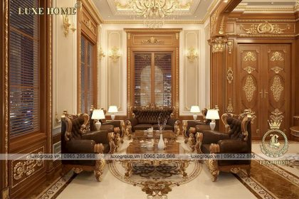 Thiết kế nội thất lâu đài cổ điển lộng lẫy đẳng cấp – NT 5116