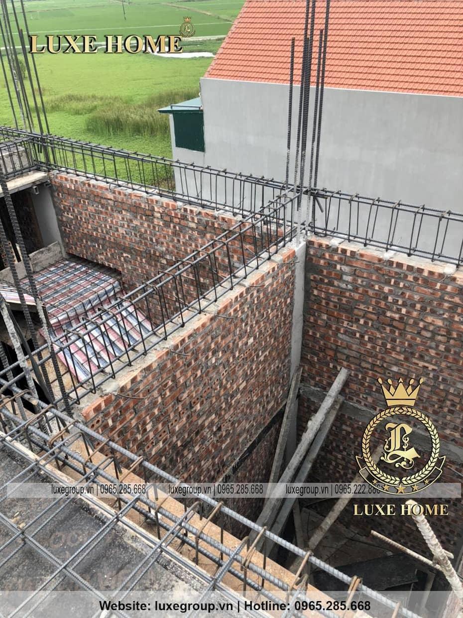 Thi công biệt thự tân cổ điển 2 tầng nhà Chị Hiền Tại Nam Định – TC 2117