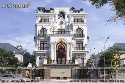 Chiếm ngưỡng mẫu biệt thự pháp 5 tầng Tại Quảng Ninh – BT 5120