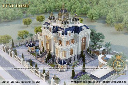 tổng quan lâu đài 2 tầng cổ điển pháp ld 2283