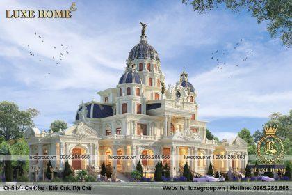 lâu đài dinh thự 3 tầng pháp ld 3254