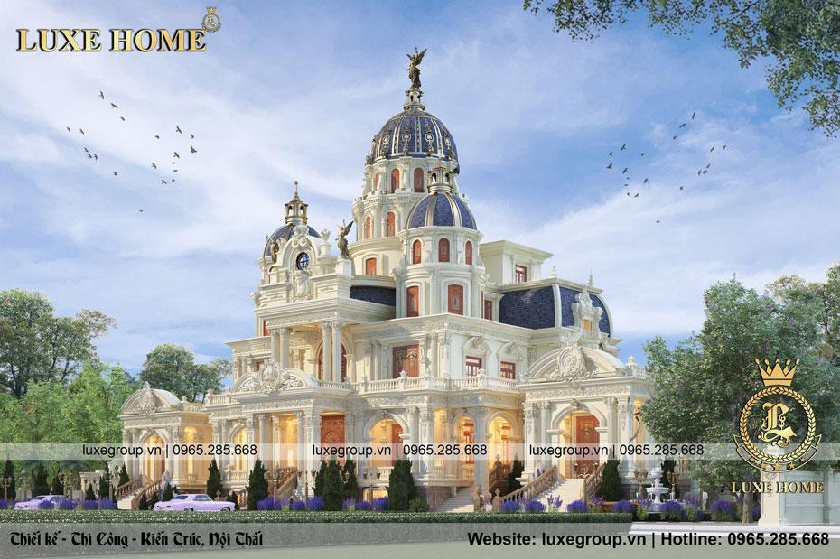 lâu đài dinh thự 3 tầng ld 3254