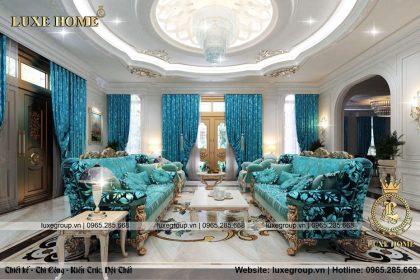 Mẫu thiết kế nội thất biệt thự lâu đài đẳng cấp lộng lẫy – NT 0160