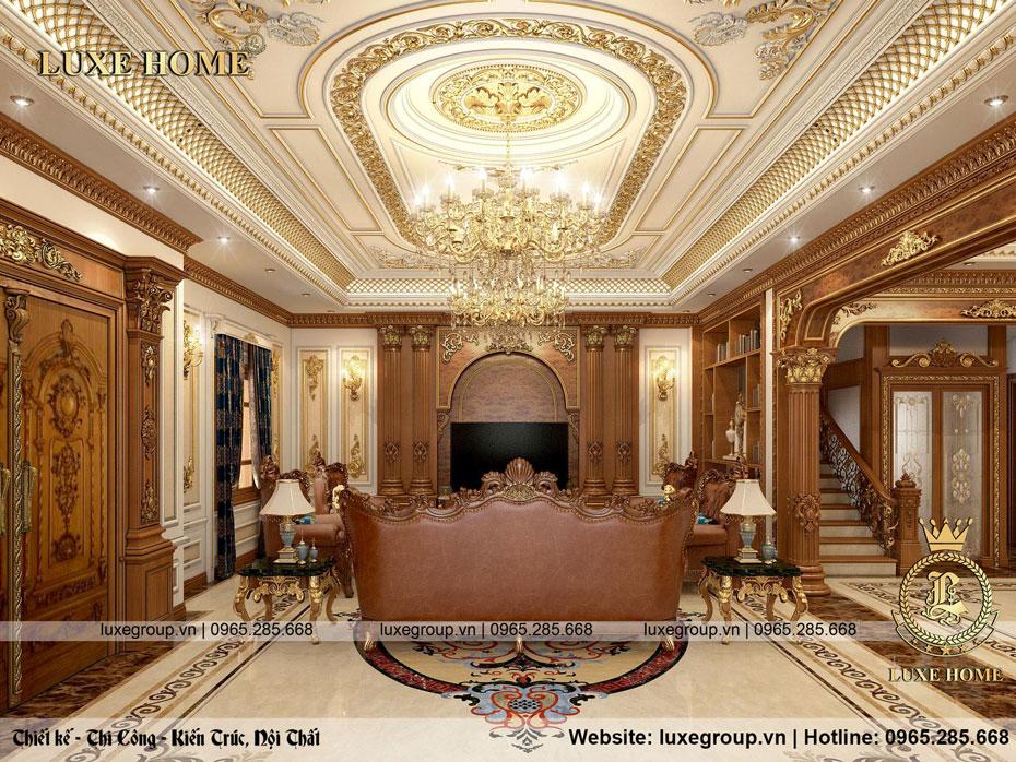 nội thất cổ điển lâu đài ld 3254 02