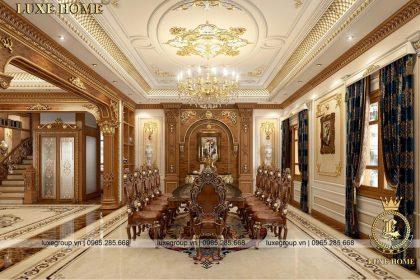 nội thất cổ điển lâu đài ld 3254 04