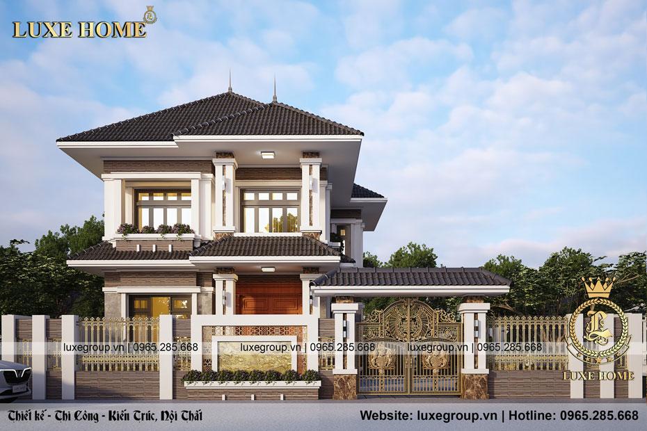 Biệt thự hiện đại 2 tầng Tại Phú Xuyên – BT 2285