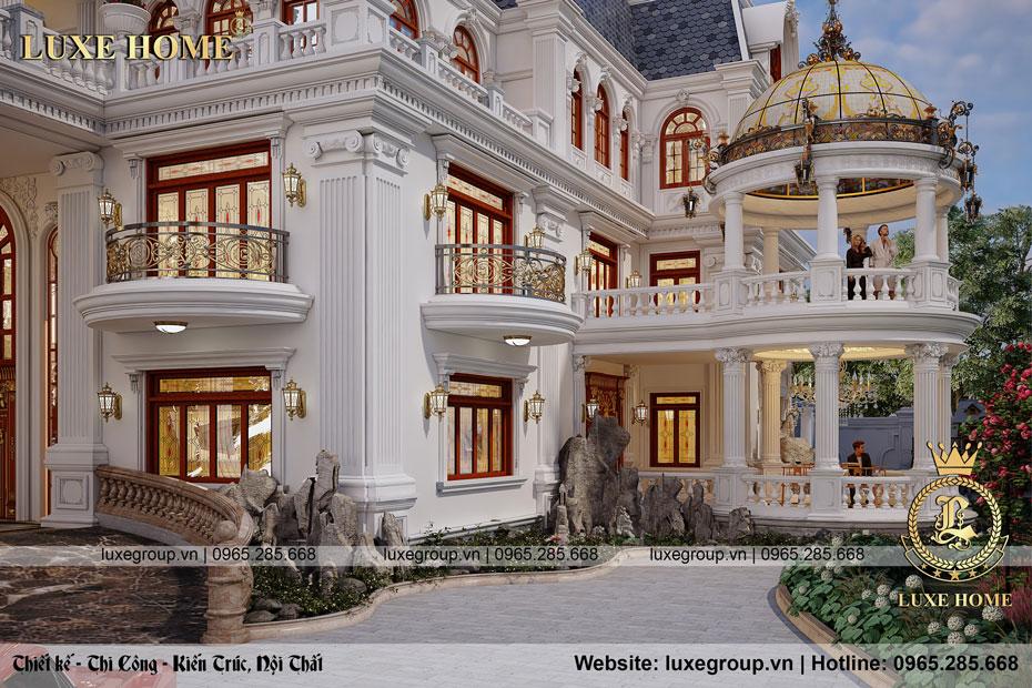 biệt thự lâu đài pháp bt 4120