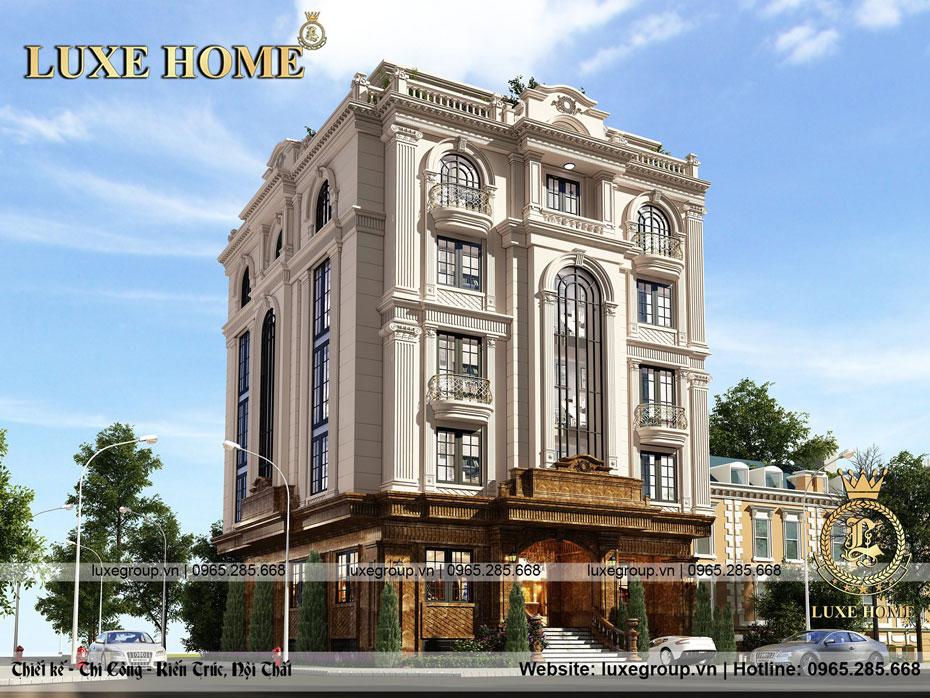 Văn Phòng 5 tầng sang trọng, tinh tế Tại Hải Phòng – VP 5124