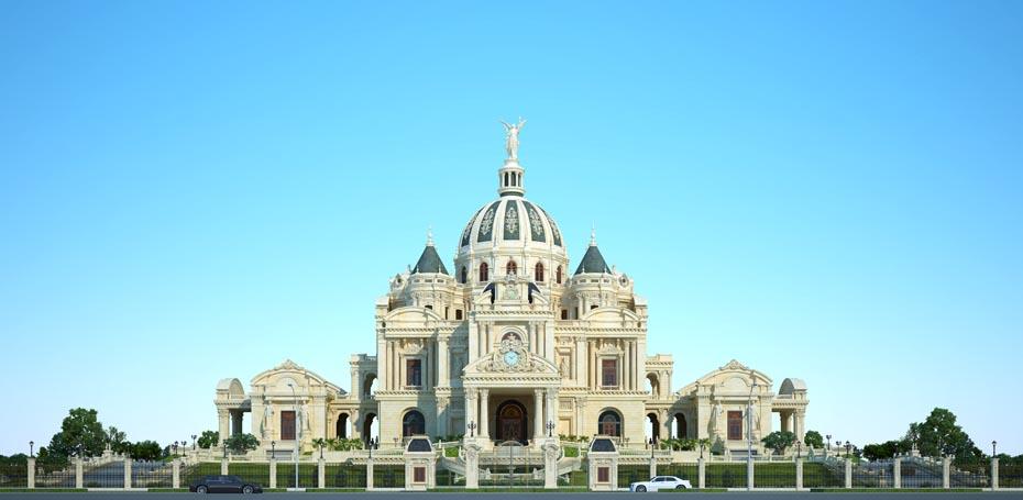 Thiết kế lâu đài 3.000 tỷ siêu đẳng cấp và lộng lẫy