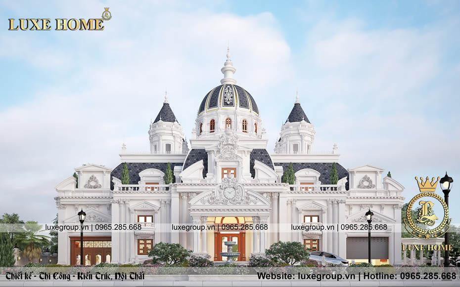 Thiết kế lâu đài cổ điển 2 tầng siêu đẳng cấp – LD 2295