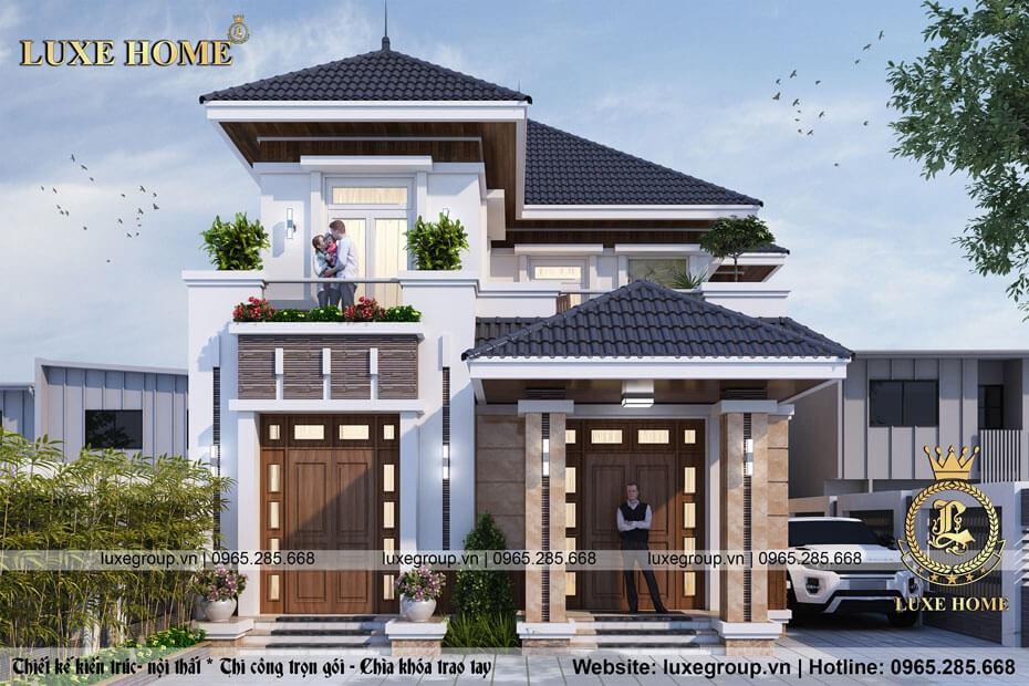 Thiết Kế Biệt Thự Hiện Đại 2 Tầng – BT 2169 Luxe Home