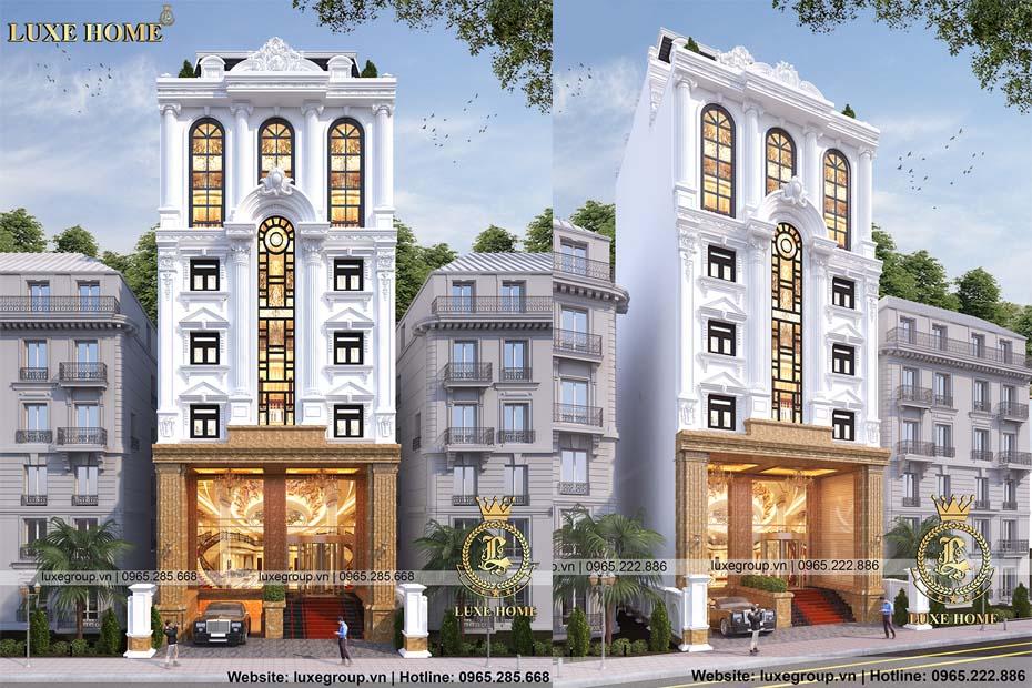 Thiết kế khách sạn 5 sao sang trọng, xa hoa – KS 8112