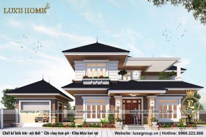 Biệt Thự Hiện Đại 2 Tầng Mái Thái Tại Quảng Ninh – BT 2115