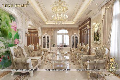 Nội thất lâu đài tân cổ điển sang trọng và đẳng cấp – NT 3221