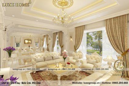 Xu thế nội thất tân cổ điển trắng sang trọng năm 2019 – NT 01435