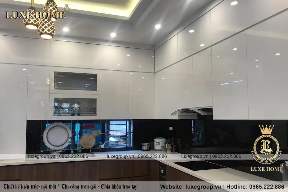 Thi công nội thất biệt thự hiện đại Anh Cường Tại Hà Nội – TC 2123