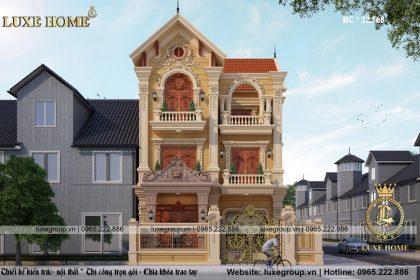 Mẫu biệt thự 3 tầng cổ điển đi vào lòng người nhất – BT 31515