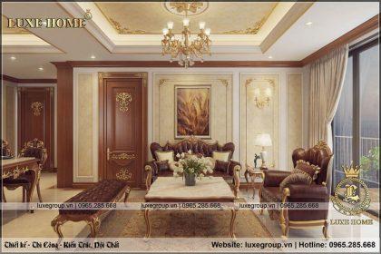 Thi Công Nội Thất Chung Cư Tân Cổ Điển – TC 0132 Luxe Home