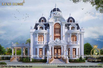 Mẫu lâu đài tân cổ điển 2 tầng nhà anh đoàn – LD 2239