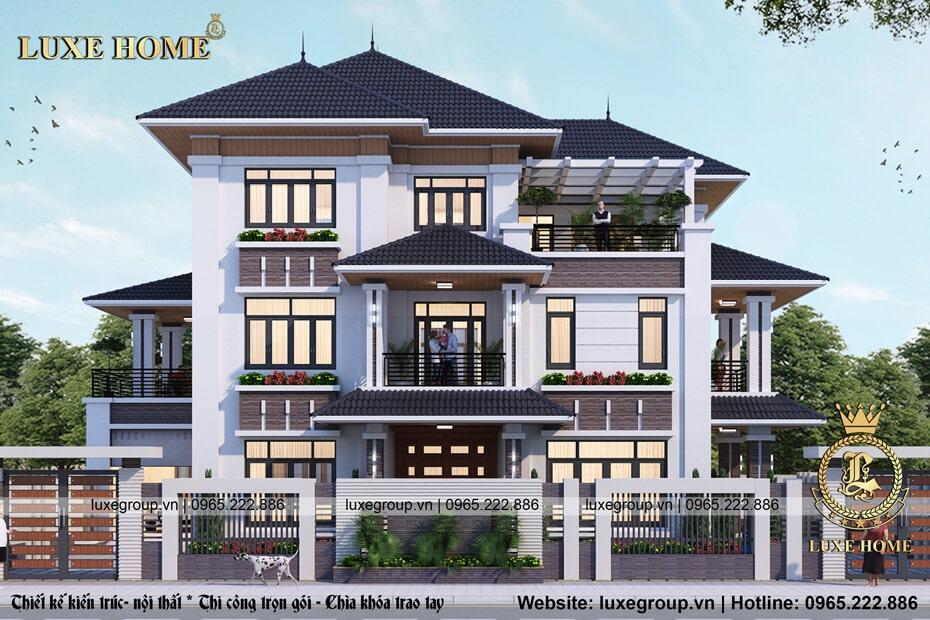 Biệt Thự 3 Tầng Hiện Đại Tại Ninh Bình – Mã số: BT 3123