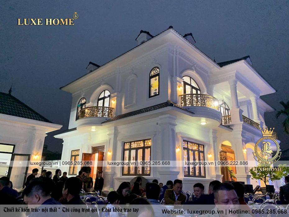 Thi công mẫu biệt thự 2 tầng Bác Khương Quảng Ninh – TC 2185