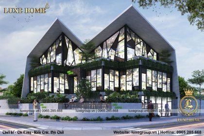 Thiết kế Coffee 2 tầng hiện đại shop đẹp – CS 2173 Luxe Home