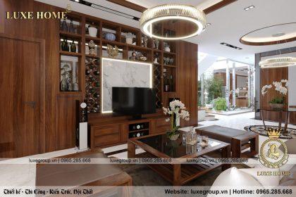 Chiếm ngưỡng nội thất hiện đại nhà Chị Tuyết – NT 2169