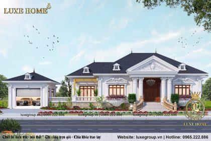 Biệt Thự Sân Vườn Cổ Điển Tại Đồng Nai – Mã số: BT 1112