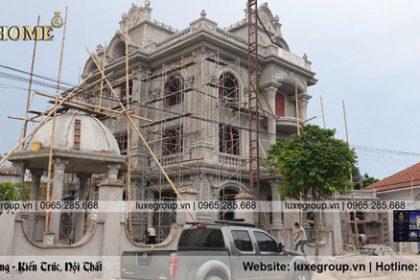 Thi công biệt thự 3 tầng Gia đình Anh Đồng Chị Hà – TC 3221