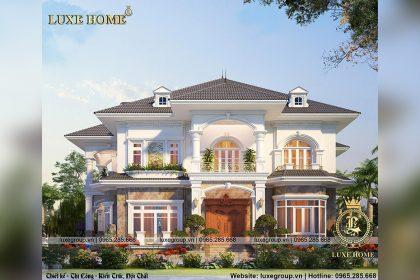 Thiết kế biệt thự 2 tầng sân vườn Tại Đồng Nai – BT 2266