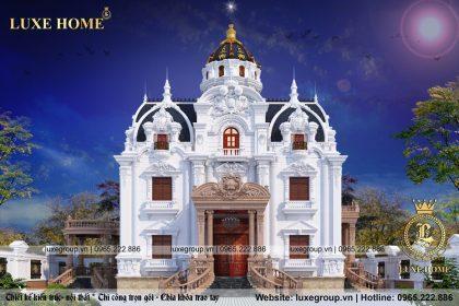 Mẫu Lâu Đài 4 Tầng Đẳng Cấp Tại Ninh Bình – LD 4112 Luxe Home