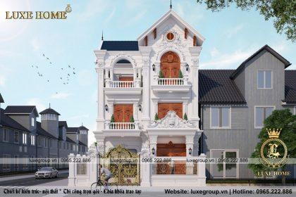 Biệt Thự 3 Tầng Cổ Điển Tại Thanh Hóa – Mã số: BT 3152