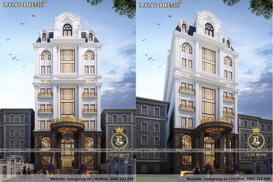 Thiết kế khách sạn sang trọng, chuyên nghiệp – KS 81118